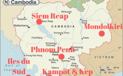 Le Cambodge en 2 semaines : Itinéraire des incontournables